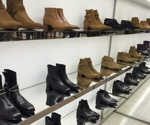 Harry Styles, one direction, and boots image