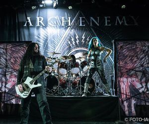 arch enemy, daniel erlandsson, and jeff loomis image