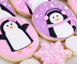 Cookies, penguins, and cute image