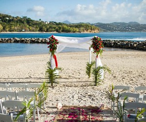 Caribbean, destination, and weddings image