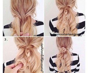 diy, hairstyle, and do it yourself image