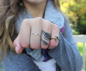 quality, tumblr, and rings image