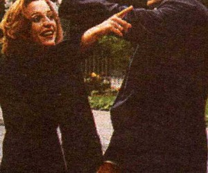david duchovny, gillian anderson, and x files image