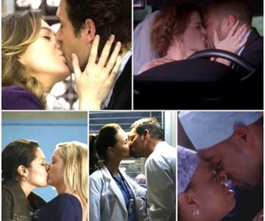 grey's anatomy, kiss, and merder image