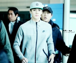 airport, fashion, and exo image