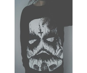 corpse paint, metal, and shirt image