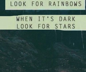 hope, stars, and quote image