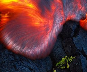 hell, mythology, and lava image