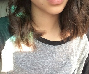 girl, lips, and hair image