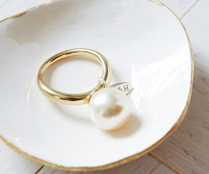 pearls and ring image