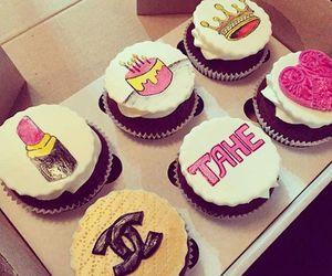 cupcake, chanel, and cake image
