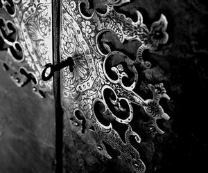 key, door, and vintage image