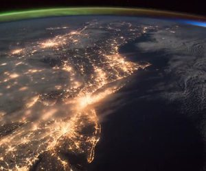 dark, earth, and light image