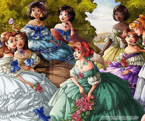 disney, princess, and disney princess image