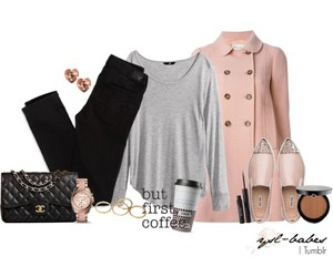 outfit, Polyvore, and tumblr image