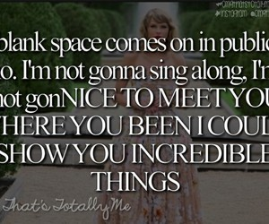 blank space image