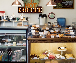 coffee and coffee shop image