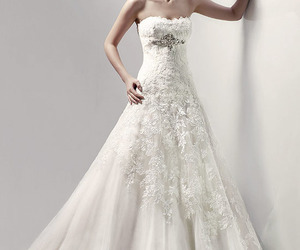 lace and wedding image