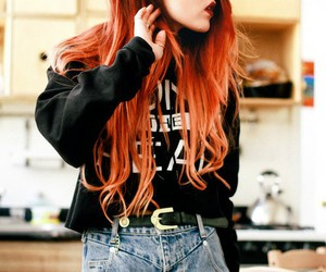 fashion, grunge, and red hair image