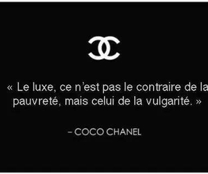 french, luxe, and quotation image