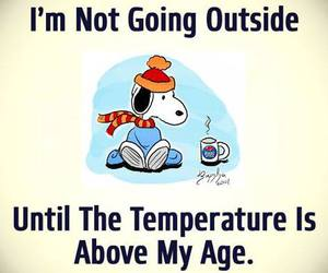 age, funny, and temperature image