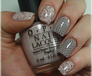 manicure, stamping, and konad image