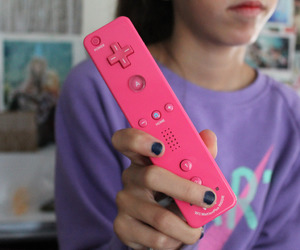 pink, wii, and tumblr image