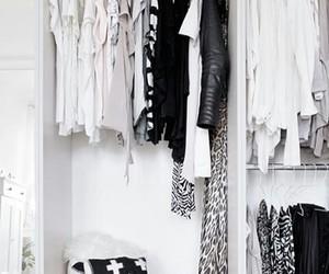 fashion, black, and closet image
