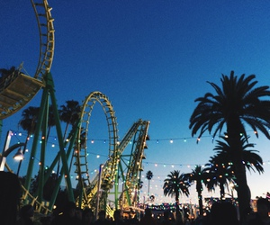 summer and Roller Coaster image