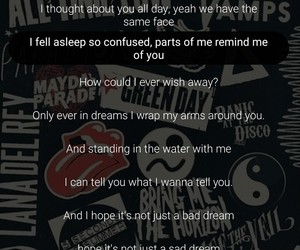 Dream, grunge, and Lyrics image