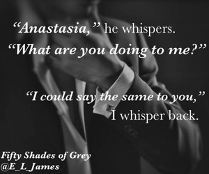 quote and fifty shades of grey image