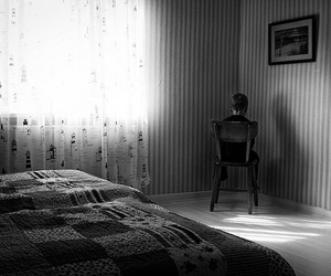 alone, room, and light image