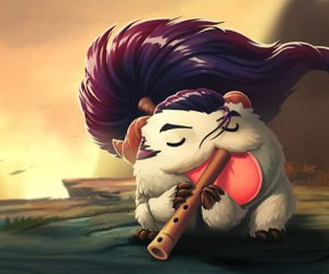 league of legends, yasuo, and poro image