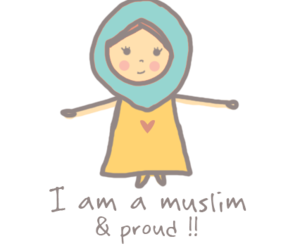 muslim, proud, and girl image