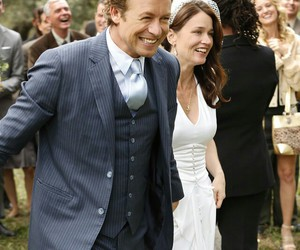 lisbon, the mentalist, and patrick jane image