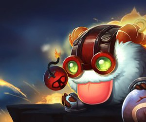 league of legends, poro, and ziggs image
