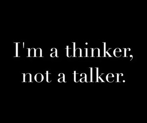 thinker, quotes, and talker image