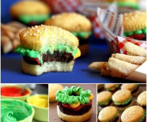 burguer cupcakes tutorial image