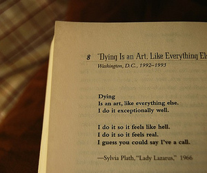 art, book, and dying image
