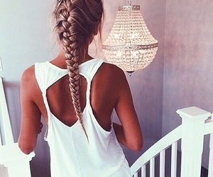 hair, fashion summer, and style image