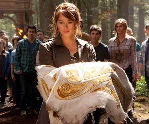 percy jackson, clarisse la rue, and sea of monsters image