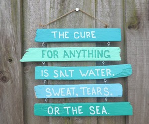 sea, quotes, and summer image