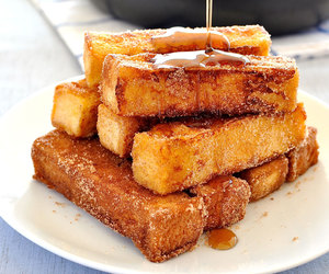 food, breakfast, and french toast image