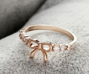 ring, bow, and jewelry image