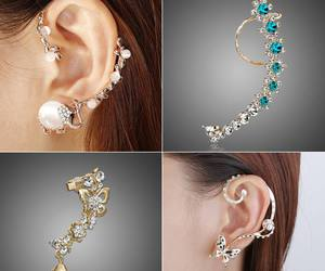 accessories, earrings, and jewellery image