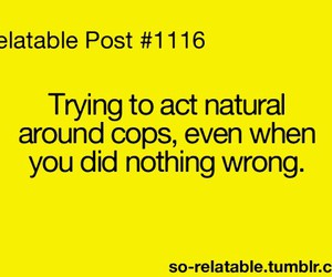 cops, lol, and quote image
