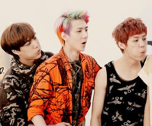 exo, kai, and luhan image