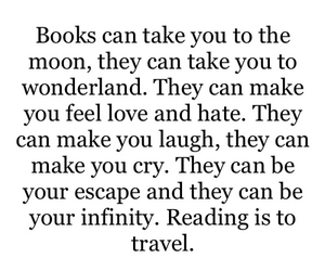 book, travel, and quotes image