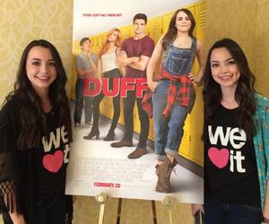 Duff, girls, and movie image