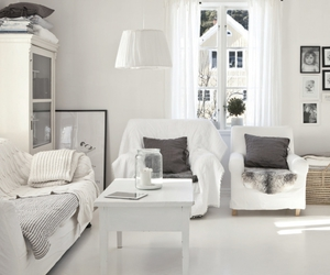 black and white, home, and style image